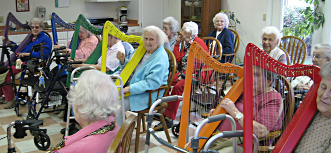 older-people-with-harps